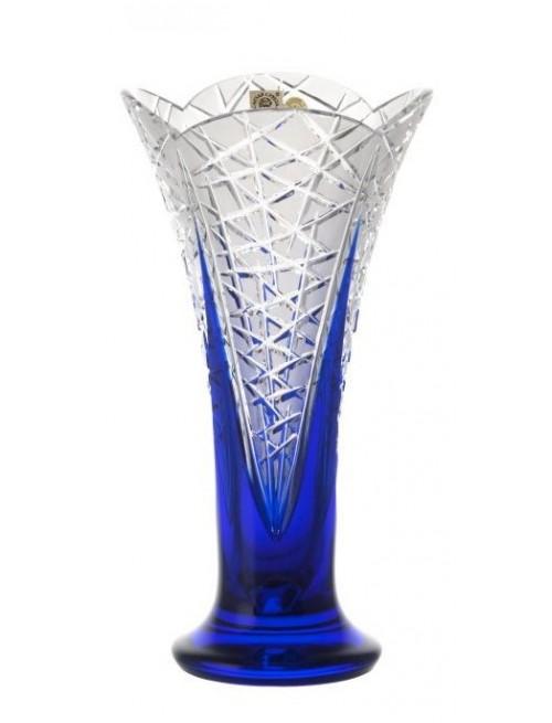 Váza  Flowerbud, barva modrá, výška 255 mm
