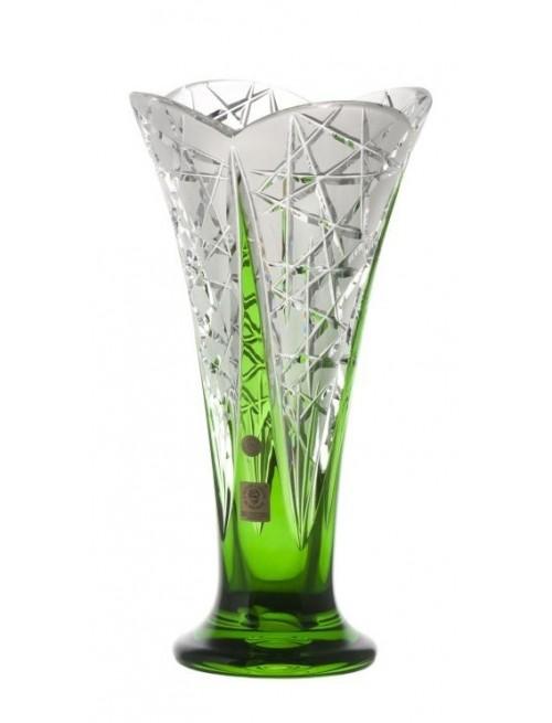 Váza  Flowerbud, barva zelená, výška 255 mm