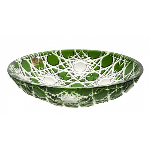Mísa  Flake, barva zelená, průměr 280 mm