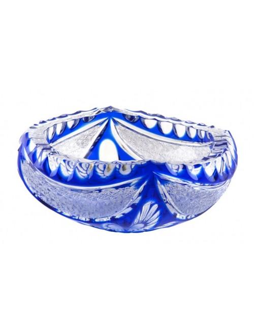 Popelník  Ingrid, barva modrá, průměr 155 mm