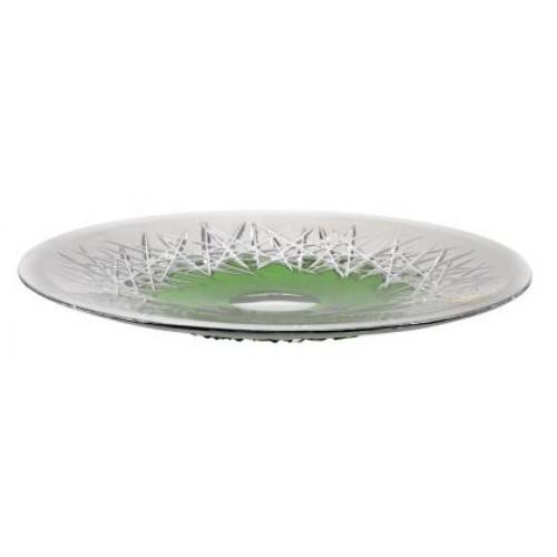 Talíř Hoarfrost, barva zelená, průměr 300 mm