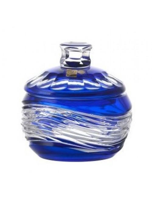 Dóza  Poem, barva modrá, výška 160 mm