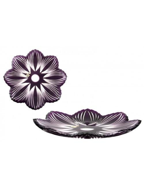 Talíř  Edita, barva fialová, průměr 360 mm
