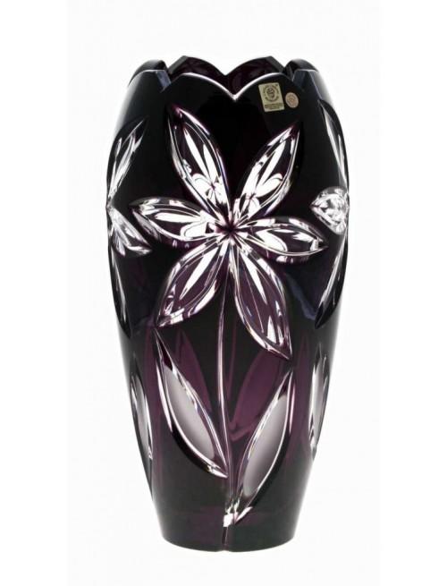 Váza Linda I, barva fialová, výška 230 mm