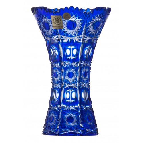 Váza Petra, barva modrá, výška 155 mm