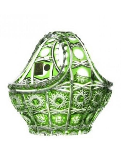 Koš  Petra, barva zelená, průměr 150 mm