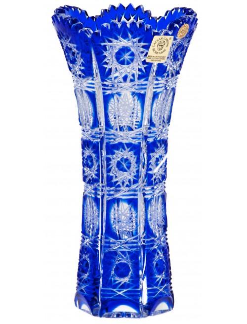 Váza Paula, barva modrá, výška 180 mm