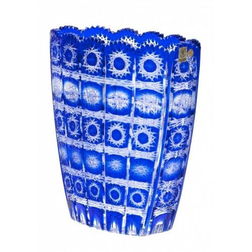 Váza  Paula II, barva modrá, výška 230 mm