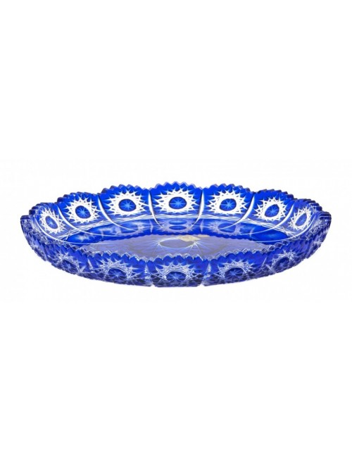 Talíř  Paula, barva modrá, průměr 255 mm
