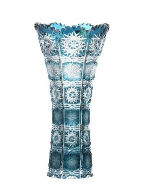 Váza  Paula, barva azurová, výška 200 mm