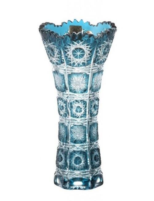 Váza Paula I, barva azurová, výška 180 mm