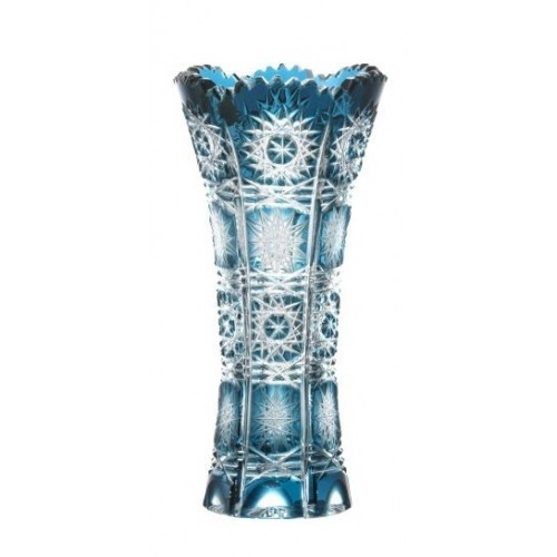 Váza  Paula, barva azurová, výška 150 mm