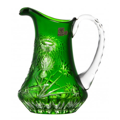 Džbán Thistle, barva zelená, objem 950 ml
