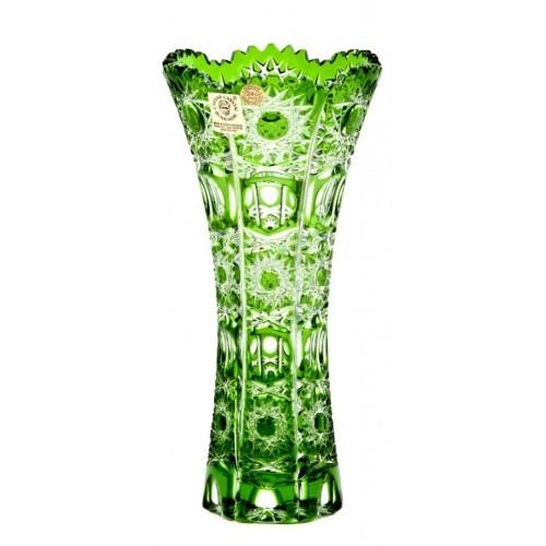 Váza Petra II, barva zelená, výška 180 mm