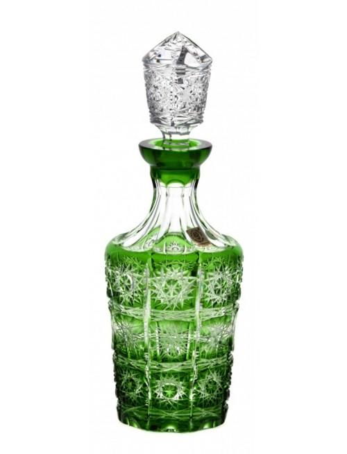 Lahev  Paula, barva zelená, objem 600 ml