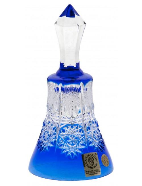 Zvonek Paula, barva modrá, výška 126 mm