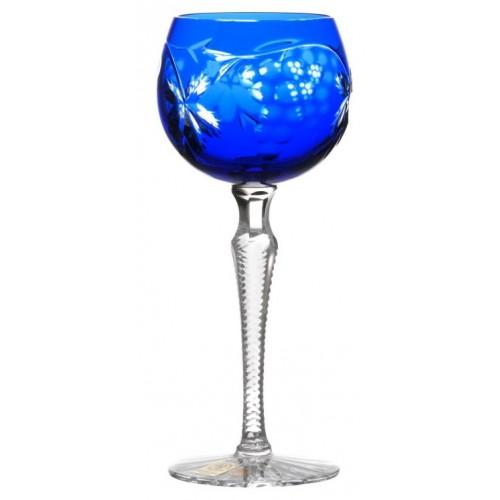Sklenice na víno Grapes, barva modrá, objem 170 ml