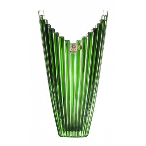 Váza  Mikado, barva zelená, výška 270 mm