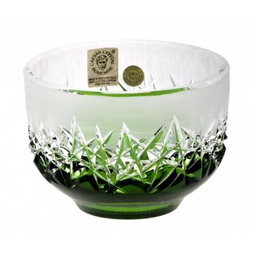 Miska Hoarfrost, barva zelená, průměr 95 mm