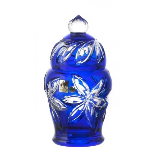 Dóza Linda, barva modrá, výška 200 mm