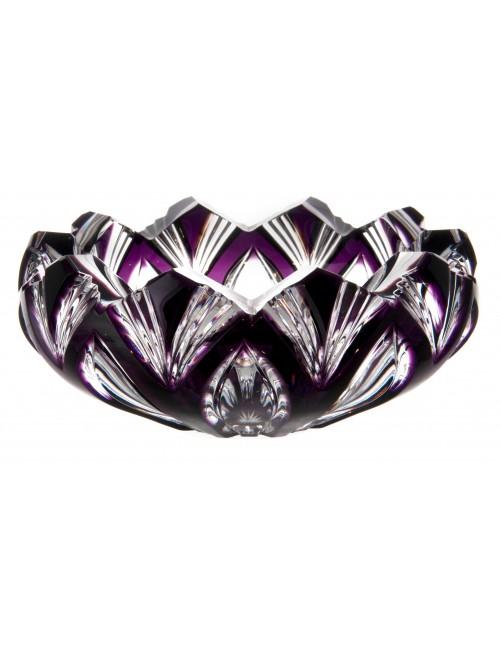 Popelník Lotos, barva fialová, průměr 150 mm
