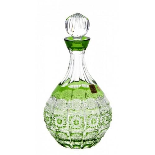 Lahev  Paula, barva zelená, objem 500 ml