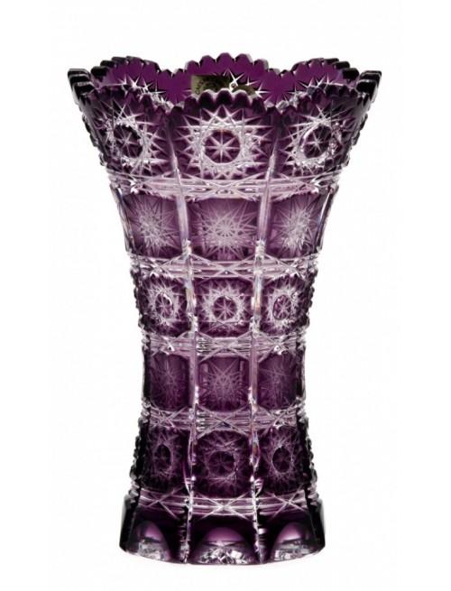 Váza Paula II, barva fialová, výška 180 mm