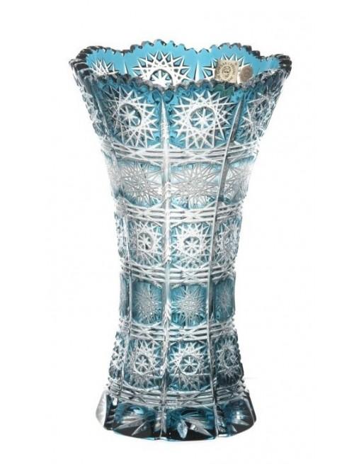 Váza Paula II, barva azurová, výška 205 mm