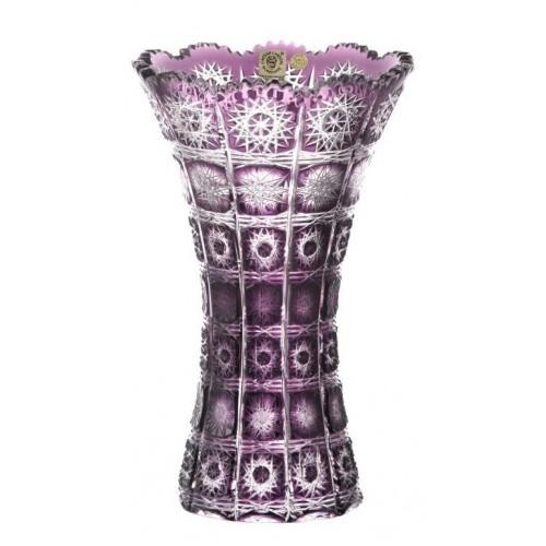 Váza  Paula, barva fialová, výška 255 mm