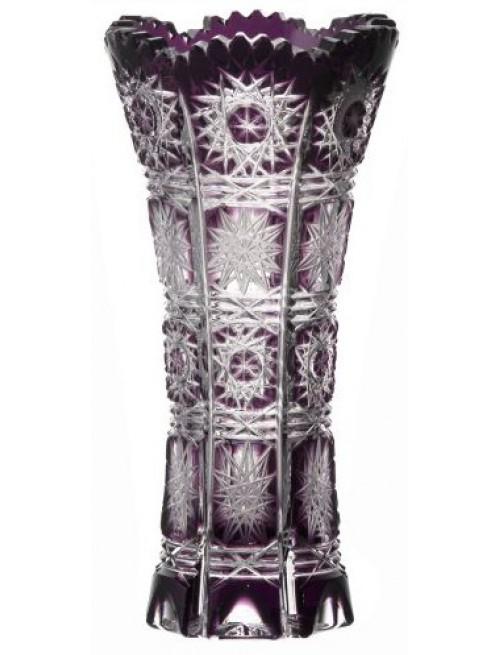 Váza Paula, barva fialová, výška 150 mm
