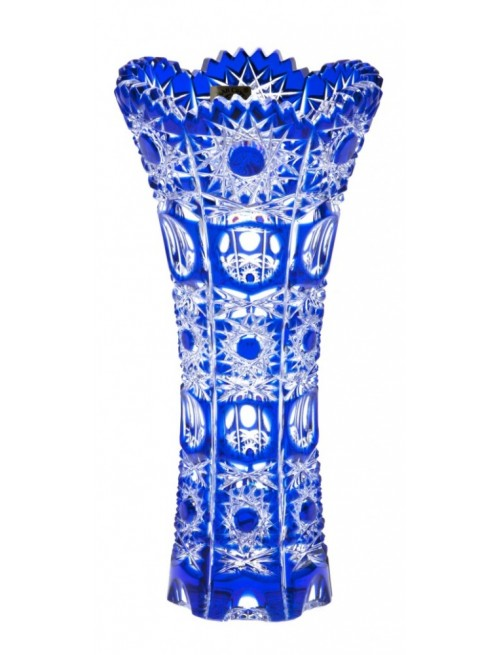 Váza Petra II, barva modrá, výška 180 mm