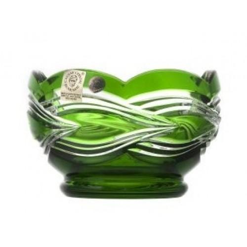 Miska Sgrafito, barva zelená, průměr 110 mm