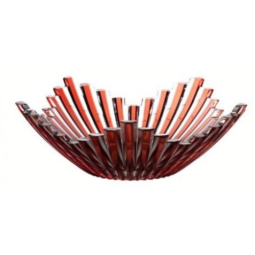 Mísa Mikado, barva rubín, průměr 230 mm