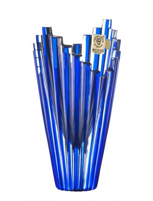 Váza  Mikado, barva modrá, výška 155 mm