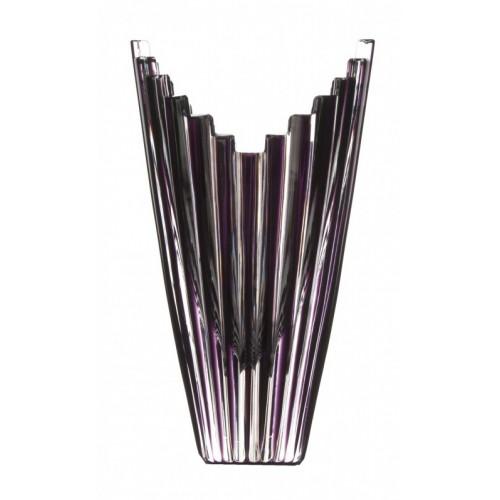 Váza  Mikado, barva fialová, výška 155 mm