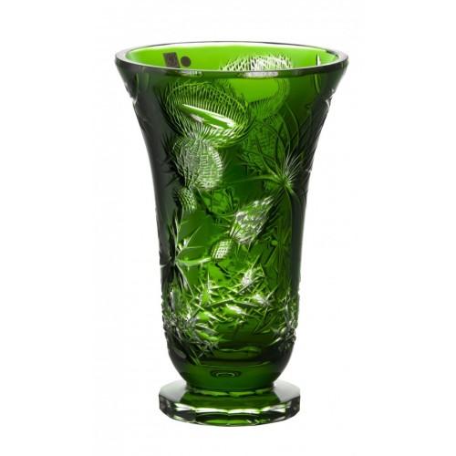 Váza  Thistle, barva zelená, výška 305 mm