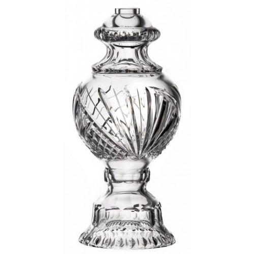 Lampový díl Trsy, barva čirý křišťál, výška 390 mm