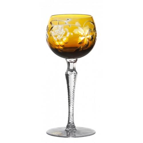 Sklenice na víno Grapes, barva amber, objem 190 ml