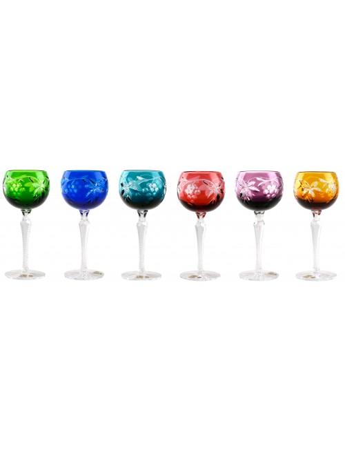 Set Sklenice na víno Grapes, barva mix barev, objem 190 ml