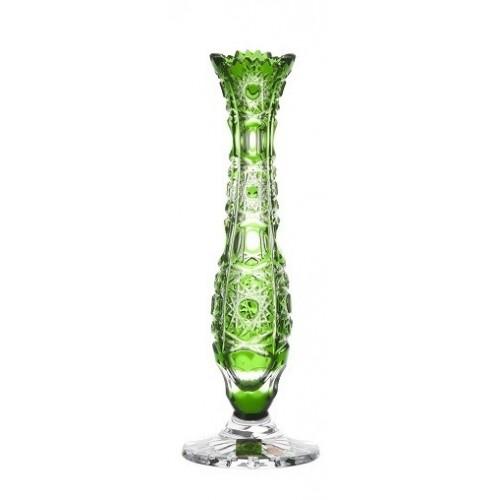 Váza  Petra, barva zelená, výška 230 mm