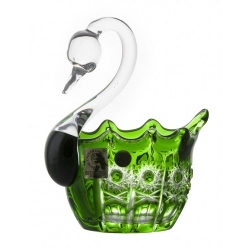 Labuť  Petra, barva zelená, průměr 80 mm
