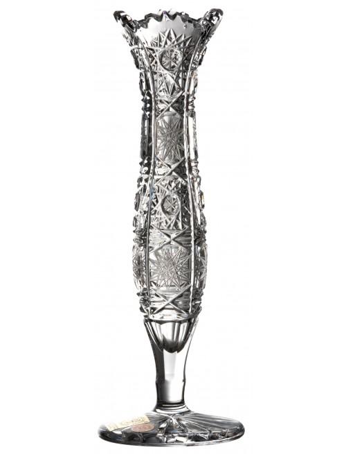 Váza 500PK V, barva čirý křišťál, výška 180 mm