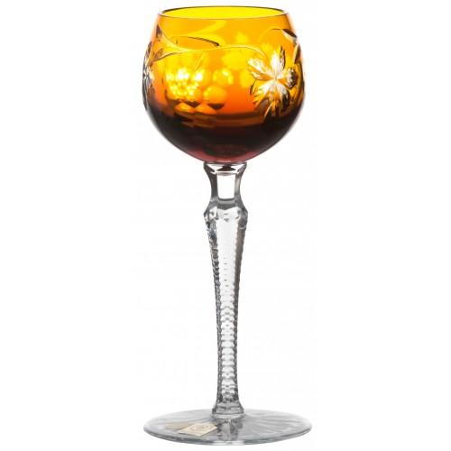 Sklenice na víno Grapes, barva amber, objem 170 ml