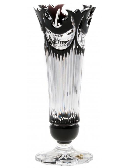 Váza  Diadem, barva černá, výška 280 mm