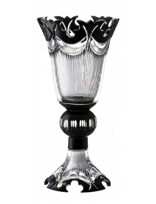 Váza  Diadem, barva černá, výška 505 mm
