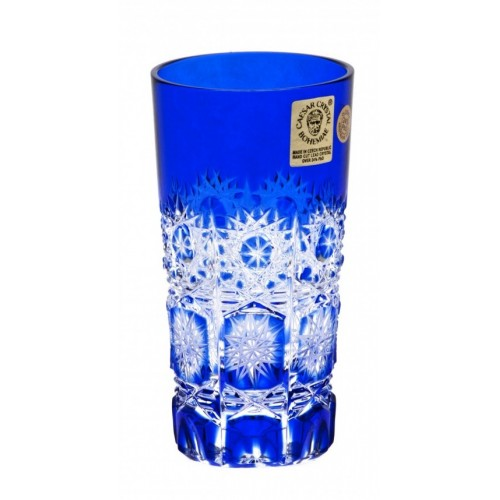 Sklenička Paula, barva modrá, objem 100 ml