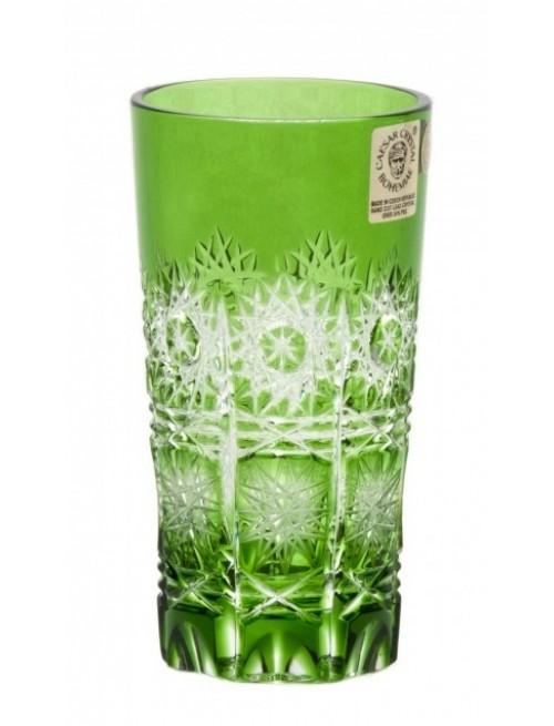 Sklenička Paula, barva zelená, objem 100 ml