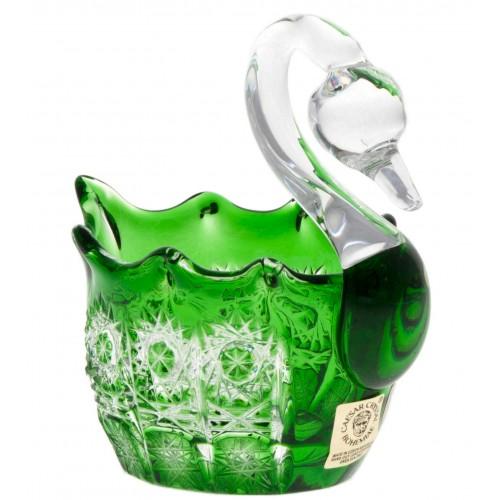 Labuť  Paula, barva zelená, průměr 80 mm