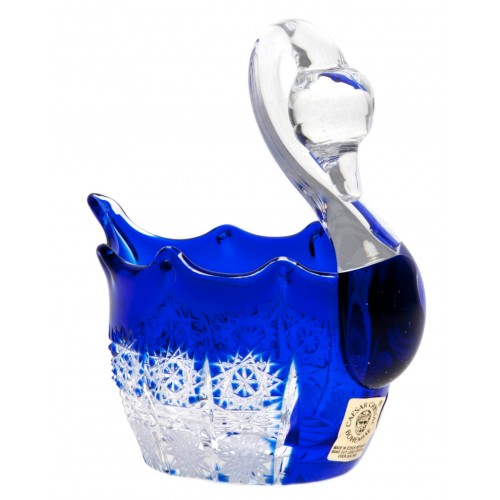Labuť  Paula, barva modrá, průměr 80 mm