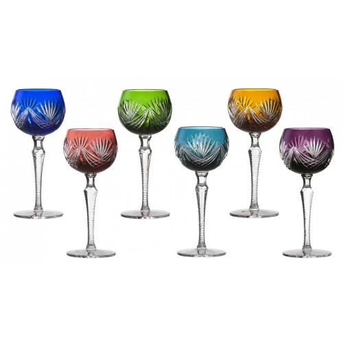 Set  Sklenice na víno Janette 190, barva mix barev, objem 190 ml